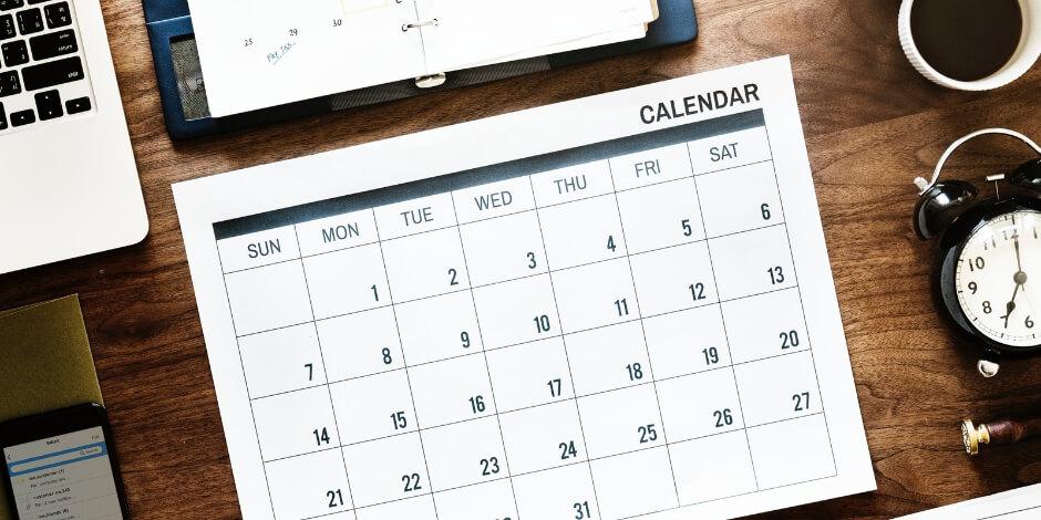 تقویم تولید محتوا