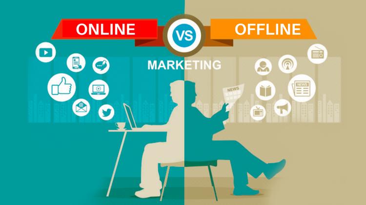 بازاریابی آفلاین یا بازاریابی آنلاین